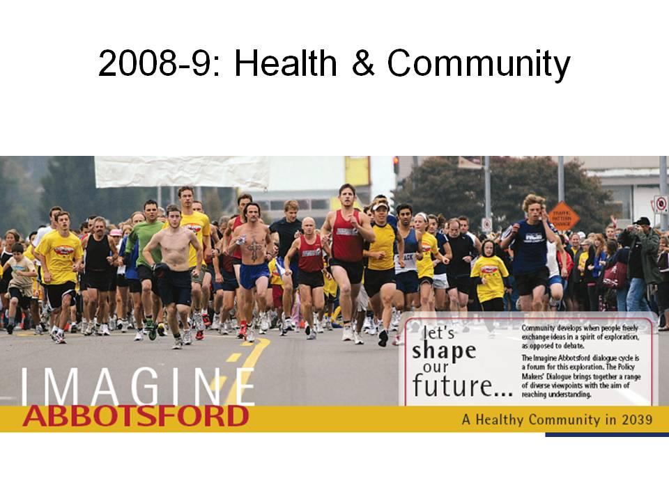 Imagine Abbotsford Health & Community