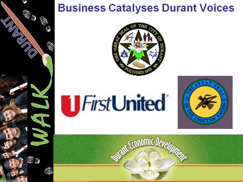 Business Voice Catalyses 4 Voices of  Durant