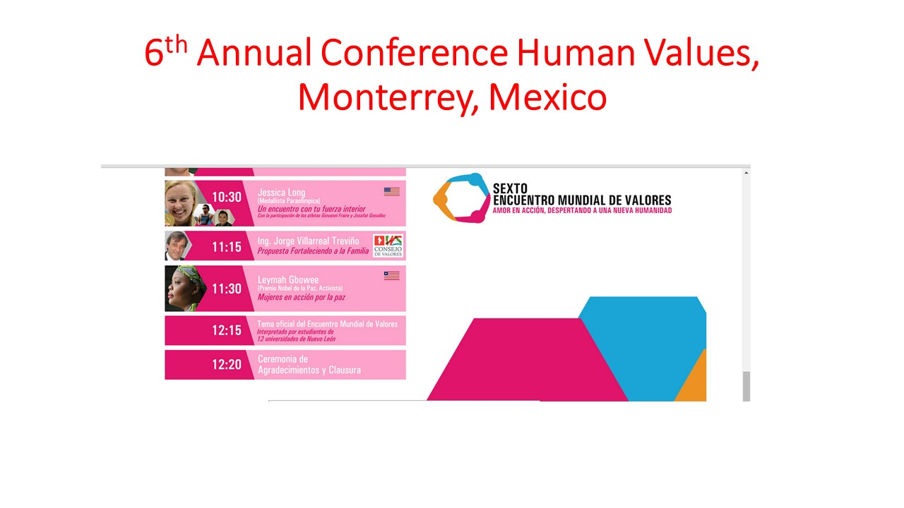 Monterrey Values Conference