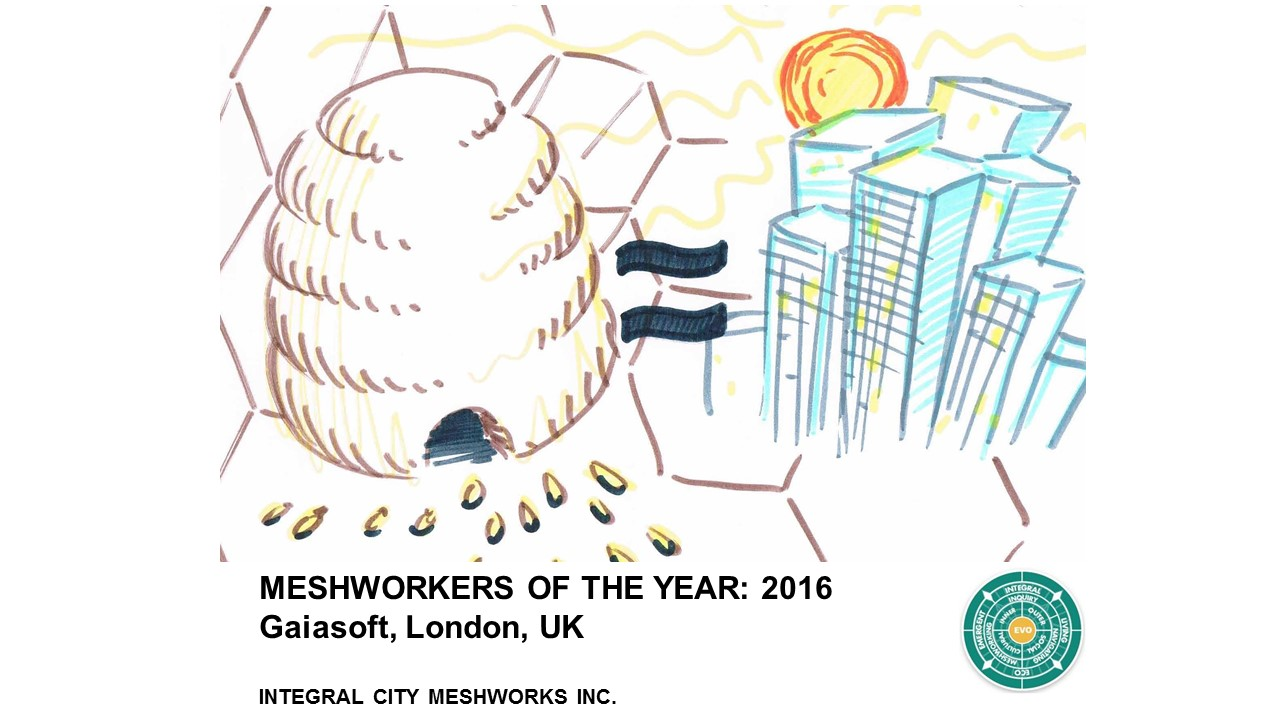 Meshworkers of the Year Award 2016: Coalescing Future Cities